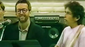 Rare Studio Footage Leaks Of Bob Dylan, Eric Clapton and Other Legends Rehearsing This All-Time Classic!
