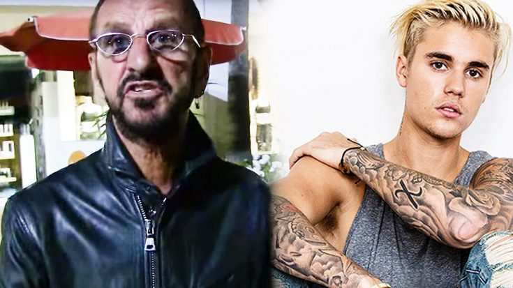 Paparazzi Compares The Beatles To Justin Bieber, And Ringo Starr's Response Is Priceless! | Society Of Rock Videos