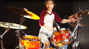 Sina Tackles Survivor's 'Eye of the Tiger' And Proves Why She's The Future Of Drumming!