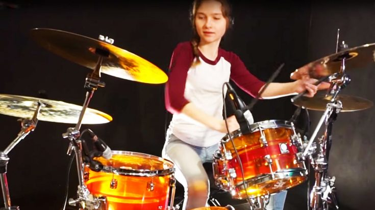 Sina Tackles Survivor's 'Eye of the Tiger' And Proves Why She's The Future Of Drumming! | Society Of Rock Videos