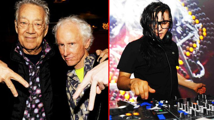 Members of The Doors Hear Dubstep For The First Time, And The Looks On Their Faces Says It All….   Society Of Rock Videos
