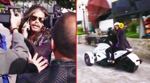 Caught On Camera: Paparazzi Harass Steven Tyler, But Luckily This NASCAR Driver Swoops In To Save Him!