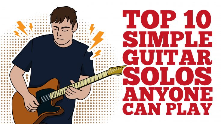 Top 10 Simple Guitar Solos Anyone Can Play- Perfect For Beginners | Society Of Rock Videos
