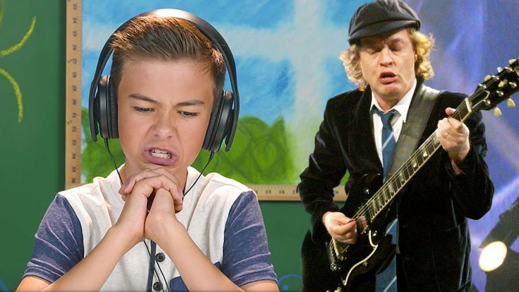 These Adorable Little Kids Hear AC/DC For The First Time And Their Reactions Are Hysterical! | Society Of Rock Videos