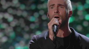 """Adam Levine Offers Poignant """"Hey Jude"""" Tribute To Slain Singer, And Doesn't Leave A Dry Eye In The House"""