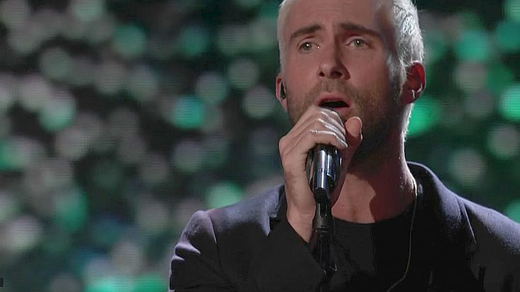 "Adam Levine Offers Poignant ""Hey Jude"" Tribute To Slain Singer, And Doesn't Leave A Dry Eye In The House 