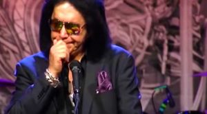 Gene Simmons Cries Through Loving Eulogy To Late Legend Chuck Berry