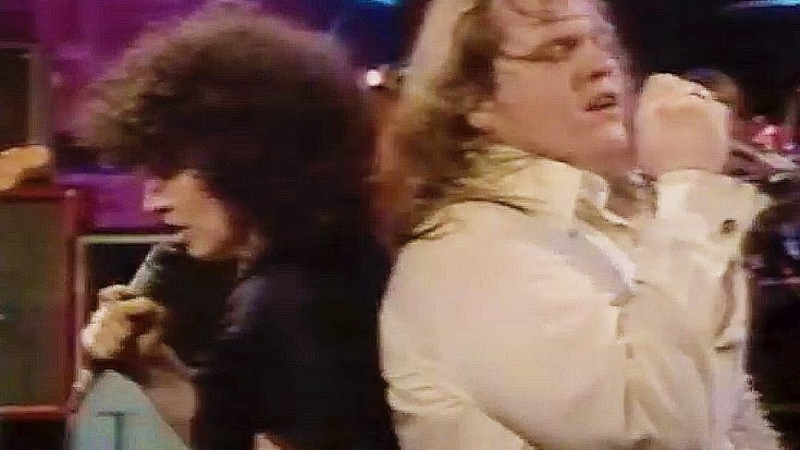 "Tempers Flare In Meat Loaf And Karla DeVito's Explosive ""Paradise by the Dashboard Light"" Duet 