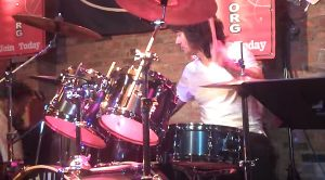 "Not Even A Lost Drumstick Is Enough To Throw Michael Cartellone Off His ""Gimme Three Steps"" Jam!"