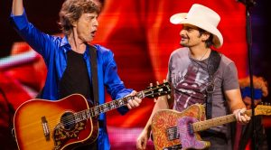 "Mick Jagger Joins Country Star Brad Paisley For ""Drive Of Shame"" And Y'all, It's Too Damn Good For Words"