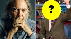 Neil Young Taps Out Of Pearl Jam Induction, And You'll Never Guess Which Late Night Giant Is Taking His Spot