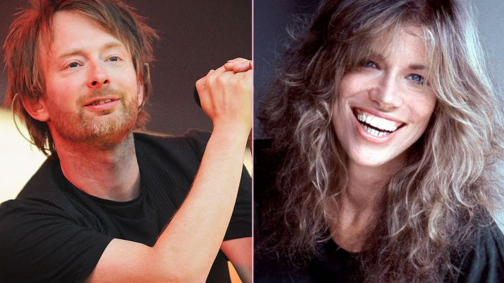 Radiohead Covered The 'Sexiest' Carly Simon Song Ever Written, And It's Absolutely Brilliant | Society Of Rock Videos