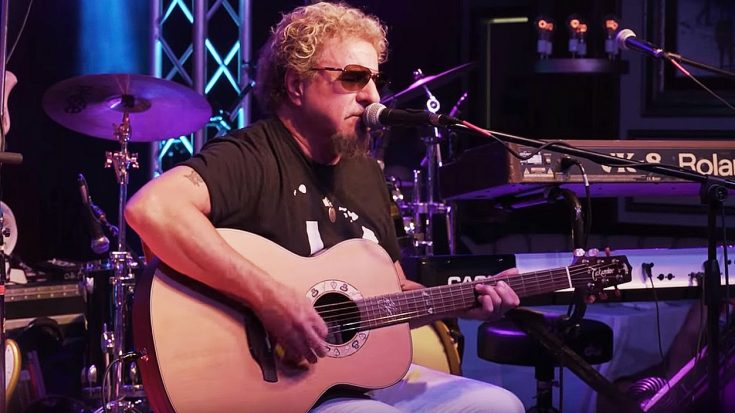"""Sammy Hagar Debuts New Acoustic Song """"No Worries"""" And It Is Too Good For Words! 