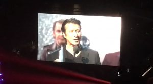 Camera Catches Steve Perry's Return To The Stage To Give Heartfelt Rock & Roll Hall Of Fame Speech