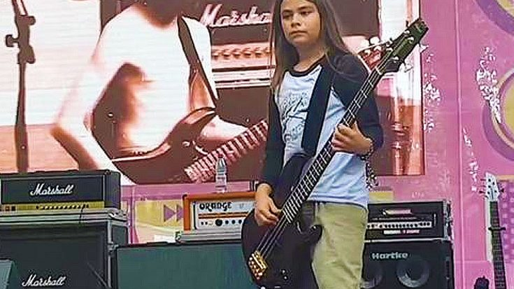 12 Year Old Tye Trujillo, Son Of Metallica Bassist Rob Trujillo, Absolutely Crushed It Onstage With Korn | Society Of Rock Videos