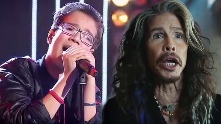 """Young Boy Sings """"Dream On"""" On The Voice And These Judges Are Stunned By What They Just Heard! 