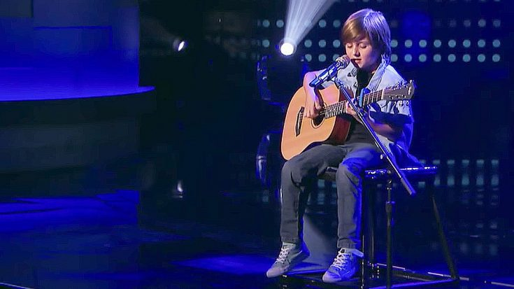 "9-Year-Old Boy Appears On TV Performing ""Blackbird"" And Leaves The Audience Stunned 