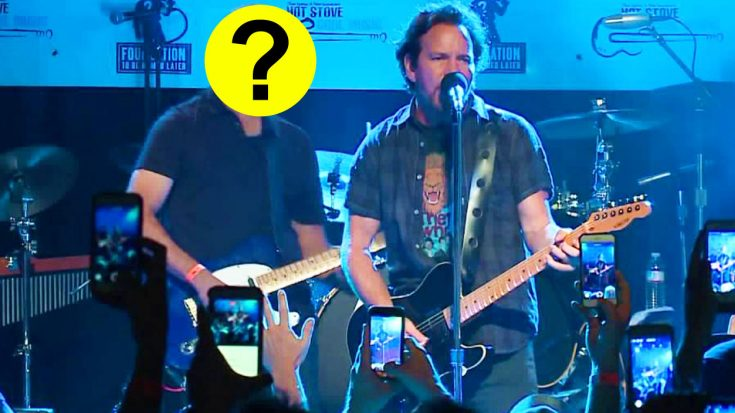 Eddie Vedder Covers Neil Young In Boston, And Is Joined On Stage By