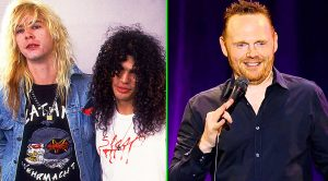 Slash and Duff McKagan Surprise Comedian Bill Burr On Stage, & Epic Jam Session Breaks Out!