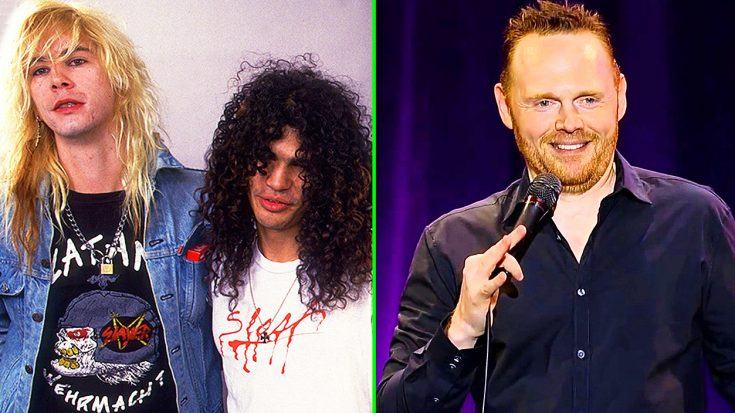 Slash and Duff McKagan Surprise Comedian Bill Burr On Stage, & Epic Jam Session Breaks Out! | Society Of Rock Videos