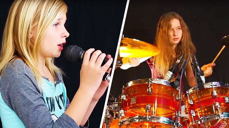 11-Year Old Showcases Jaw-Dropping Vocal Range In Chilling Cover Of 'The Sound of Silence'! | Society Of Rock Videos