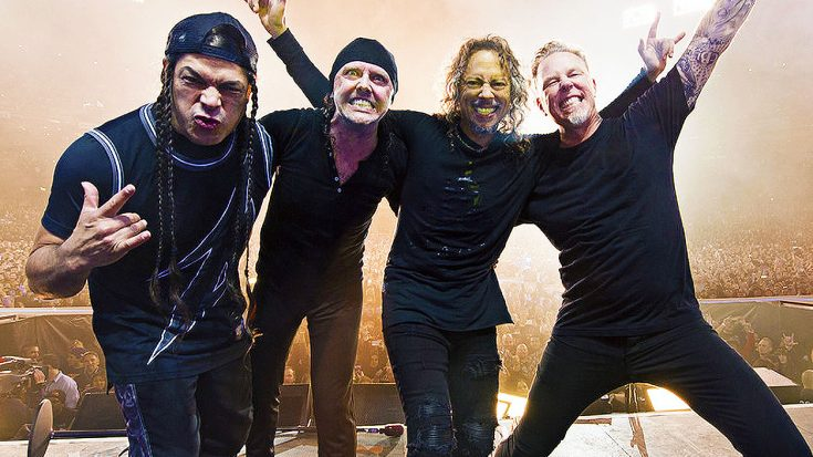 Metallica's Latest Generous and Endearing Act Will Bring A Huge Smile To Any Rock Fan's Face! | Society Of Rock Videos
