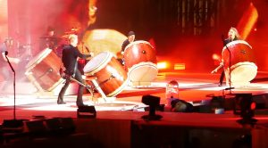 Metallica Members Ditch Instruments, And Engage In Epic Drum Jam That Makes The Crowd Go Wild!