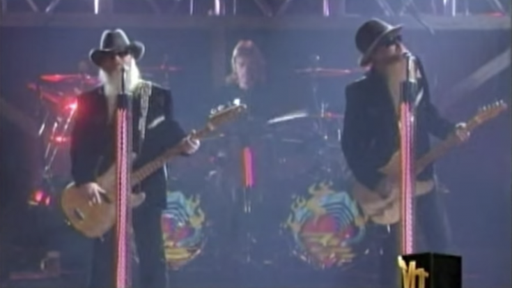 ZZ Top Go On VH1 And School All Other Musicians – They Kicked Serious Ass   Society Of Rock Videos