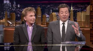 Jimmy Fallon Interviews Barry Manilow Behind A Piano And Suddenly Joins Him For Impromptu Duet