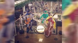 "Anyway.. Here's A Video Of Batman, Robin, And The Riddler Playing ""Misirlou"""