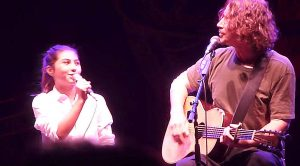 "Chris Cornell Sings ""Redemption Song"" With His Daughter Toni, And It's Too Damn Cute For Words"