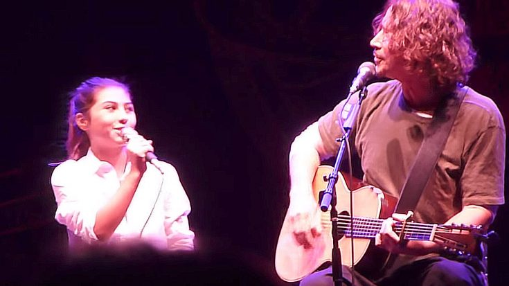 "Chris Cornell Sings ""Redemption Song"" With His Daughter Toni, And It's Too Damn Cute For Words 