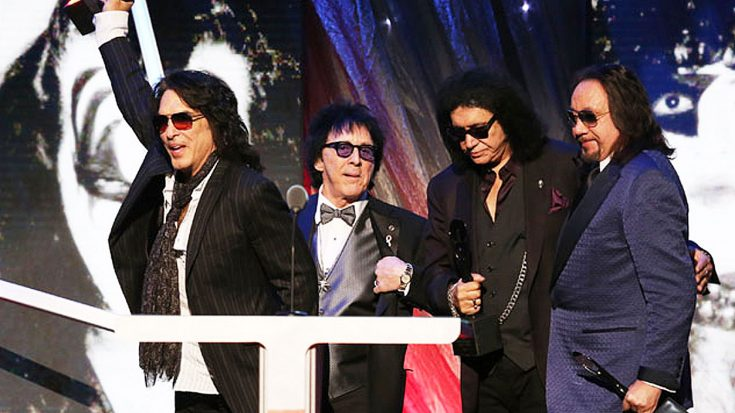Kiss Isn't Particularly Fond Of The Rock & Roll Hall Of Fame, But One Member Is, And For Good Reason… | Society Of Rock Videos