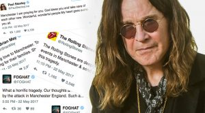 Rock Legends Offer Outrage, Solidarity Following Horrific Manchester Bomb Attack