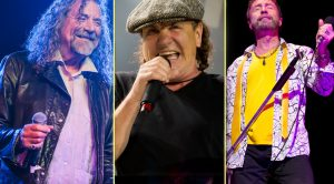 Brian Johnson Joins Robert Plant, Paul Rodgers For Triumphant Post-Hearing Loss Return To Stage