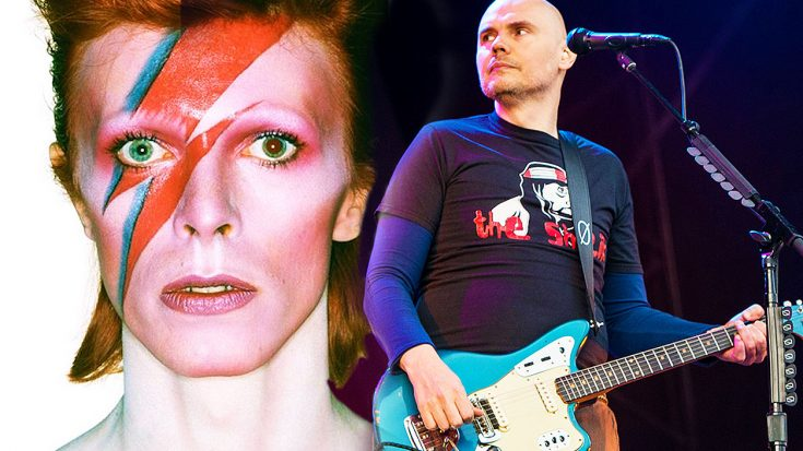 Smashing Pumpkins Put Their Own Twist On David Bowie's 'Space Oddity,' And The Result Is Breathtaking! | Society Of Rock Videos