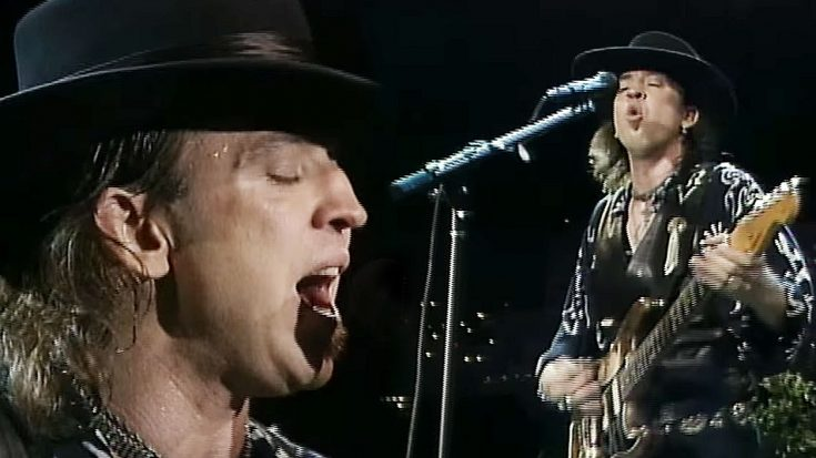 """29 Years Ago: Stevie Ray Vaughan Left Everyone Speechless With A Ruthlessly Epic Cover Of """"Voodoo Child"""" 