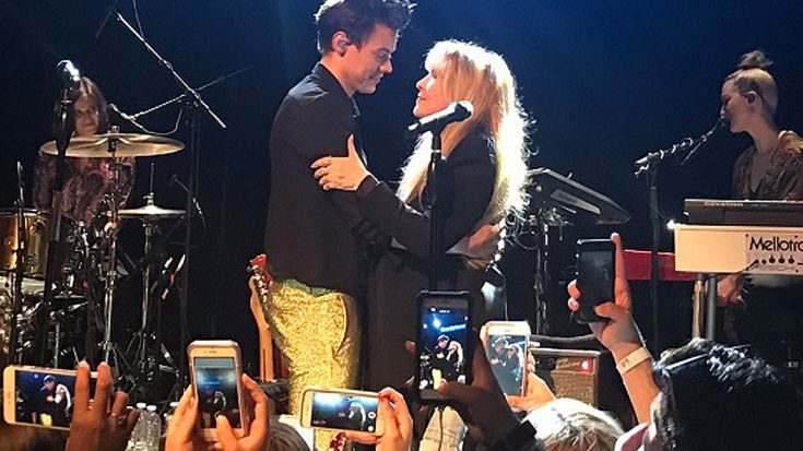 """If You Haven't Heard Stevie Nicks And Harry Styles Sing """"Leather And Lace,"""" You're Missin' Out 