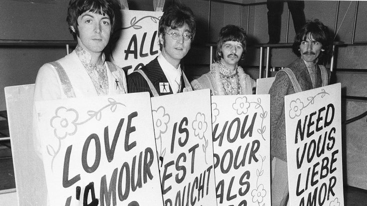 50 Years Ago: The Beatles Brighten Up The World by Debuting 'All You Need Is Love' On National TV! | Society Of Rock Videos