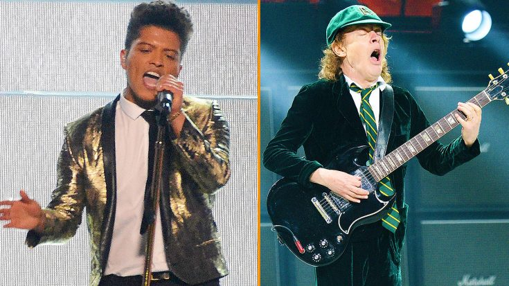 Someone Mashed Up AC/DC And Bruno Mars' Music, And It's Guaranteed To Get Your Feet Tapping! | Society Of Rock Videos