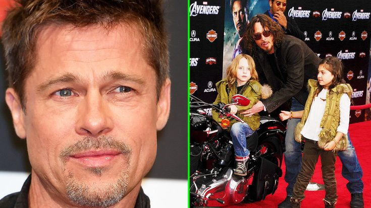Brad Pitt Offers Generous Support To Chris Cornell's Family With This Endearing Act Of Kindness | Society Of Rock Videos