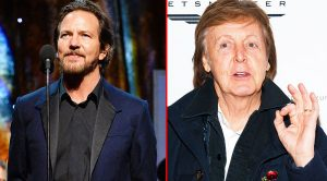 Paul McCartney Once Punched Eddie Vedder In The Face, And The Story Behind It Is Absolutley Hysterical!