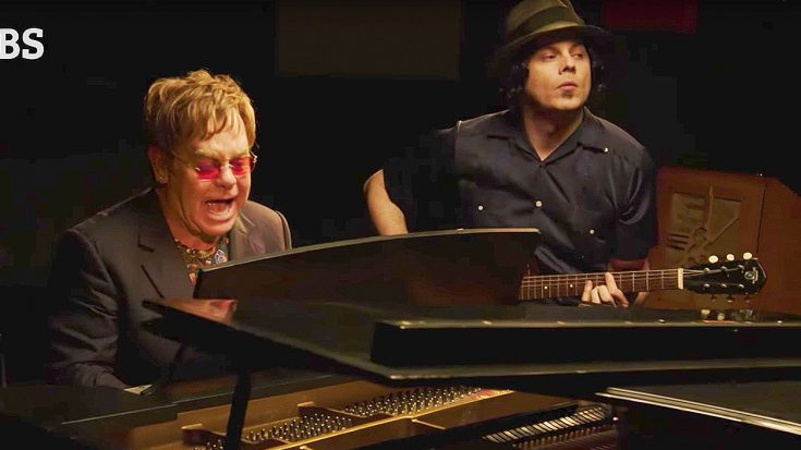 Elton John and Jack White Duet, And The Result Is One Of The Best Improvised Jams You'll Ever Hear! | Society Of Rock Videos