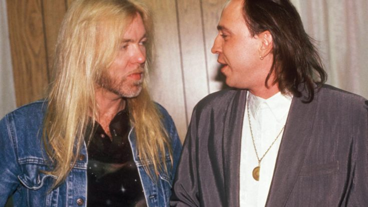Flashback: Gregg Allman And Stevie Ray Vaughan's Onstage Jam Is The Greatest Thing You've Never Seen | Society Of Rock Videos