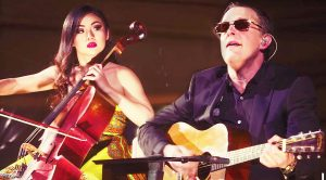 Joe Bonamassa and Tina Guo Deke It Out In Insane Guitar vs Cello Battle You Won't Ever Forget!