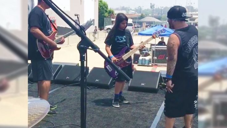 Caught On Camera: Robert Trujillo's Son Jams With This Legendary Rock Band And It's Everything! | Society Of Rock Videos
