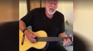 David Gilmour Films Himself Singing And Playing Guitar And Yes.. You Need To Watch This