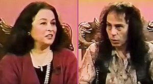 Watch As Ronnie James Dio Tries To Explain Heavy Metal To A Woman Who's Never Heard It Before