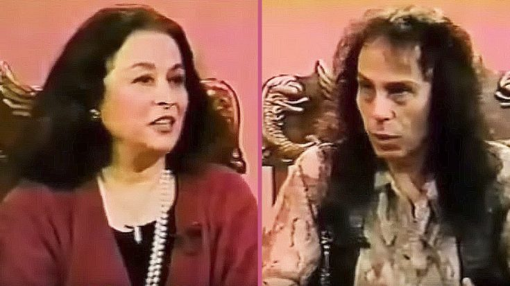 Watch As Ronnie James Dio Tries To Explain Heavy Metal To A Woman Who's Never Heard It Before | Society Of Rock Videos