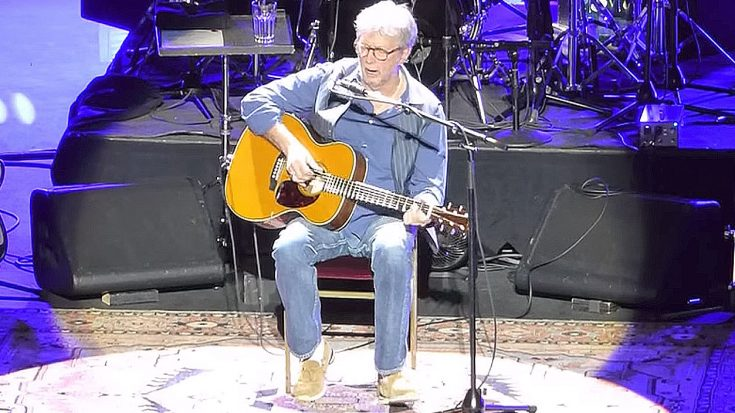 """Eric Clapton Puts Upbeat Twist On """"Tears In Heaven"""" And This Crowd Can't Get Enough Of It!   Society Of Rock Videos"""